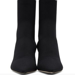 Miu Miu Shoes - Miu Miu Black Sock Boots